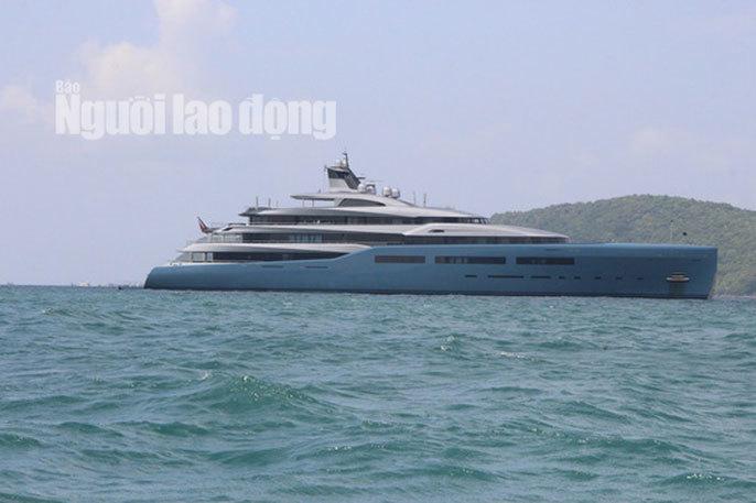 """Siêu du thuyền triệu đô của ông chủ Tottenham đến """"đảo ngọc"""" Phú Quốc"""