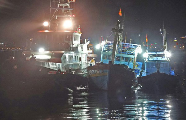Rescue centre saves 16 fishermen