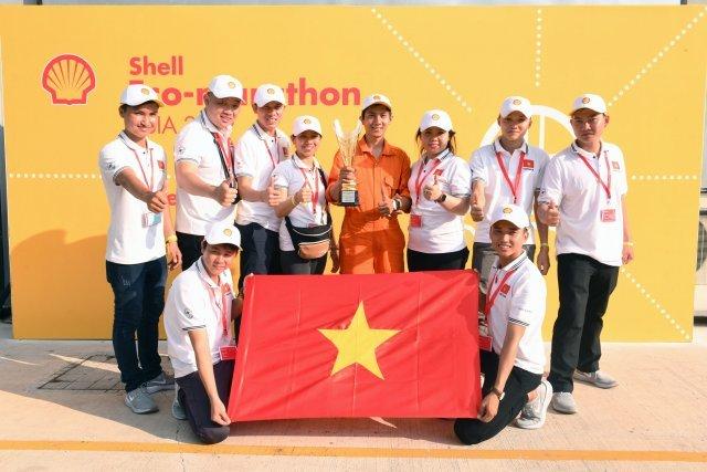 Vietnamese teams succeed at Shell Eco-marathon