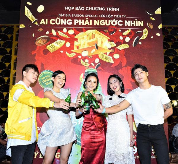 Khuyến mại 'Bật Bia Saigon Special lên lộc tiền tỷ'
