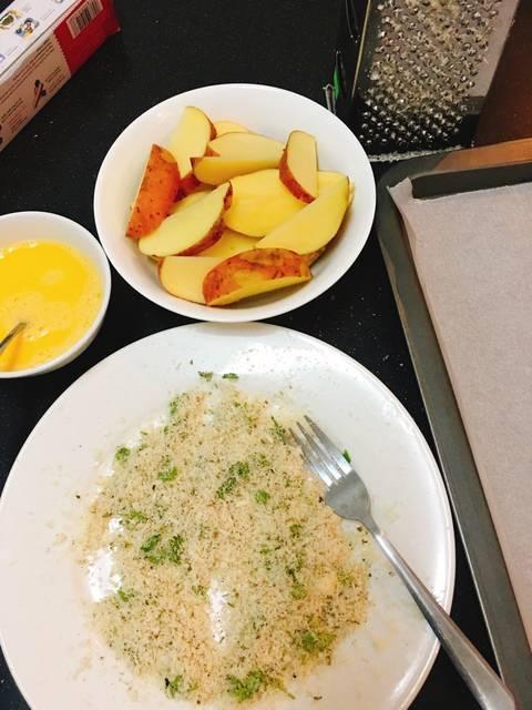 Bữa sáng đủ chất với món trứng nướng khoai tây