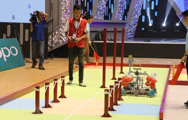 2019 Vietnam Robocon enters final round in Hai Duong