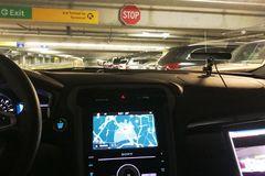 Khám phá bãi đậu xe tự động tại sân bay Maryland