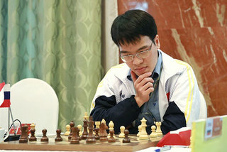 Le Quang Liem suffers loss in Chinese Chess League Division