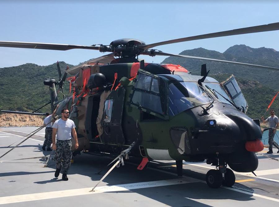 tàu đổ bộ,trực thăng,tàu chiến,Australia