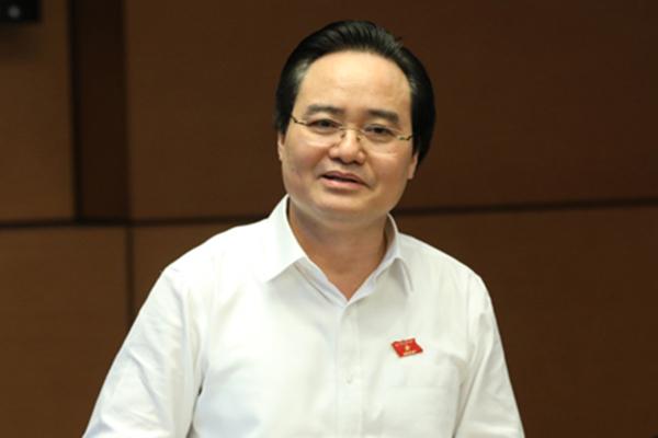Phùng Xuân Nhạ,thi THPT quốc gia,gian lận thi cử,bộ trưởng Phùng Xuân Nhạ