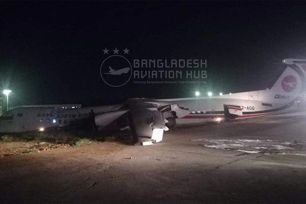 Máy bay chở khách Bangladesh gặp nạn ở Myanmar