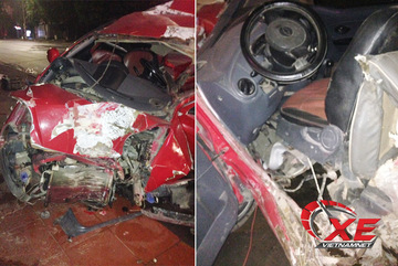 Đã xác minh danh tính lái xe đâm ô tô nát bét rồi bỏ chạy ở Quảng Ninh