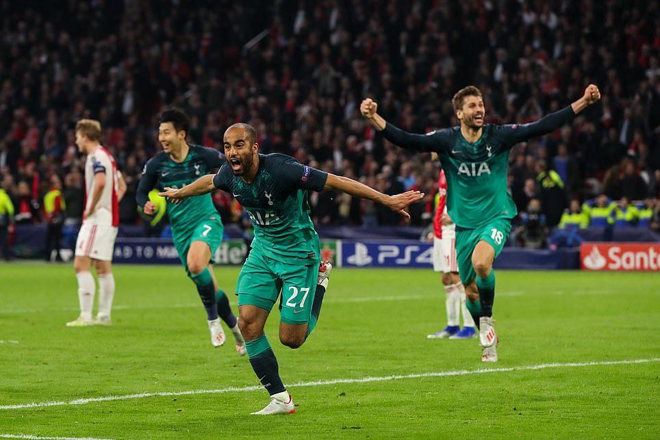 Ajax vs Tottenham,Lucas Moura,chung kết C1