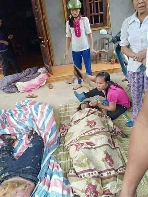 Đôi nam nữ nghi ngoại tình bị thiêu trong nhà ở Yên Bái