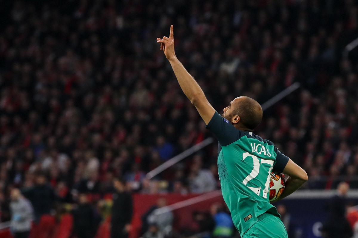 Tottenham,Ajax vs Tottenham,Lucas Moura,Cúp C1