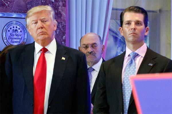 Thượng viện Mỹ gửi trát đòi con trai ông Trump hầu tòa