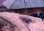 Thi thể phụ nữ mặc áo lót, nhiều vết thương nằm bên đường ở Điện Biên