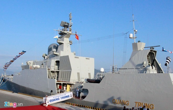 Vietnamese naval ship joins exercise in Singapore