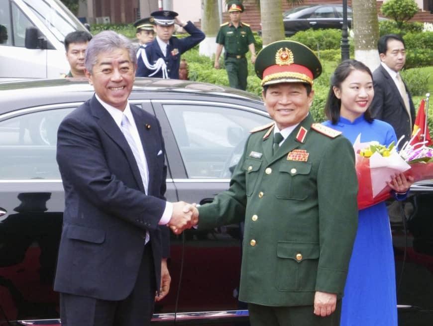 Vietnam-Japan defense ties deepened
