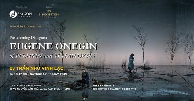 Screening of opera Eugene Onegin at C. Bechstein Showroom in HCMC