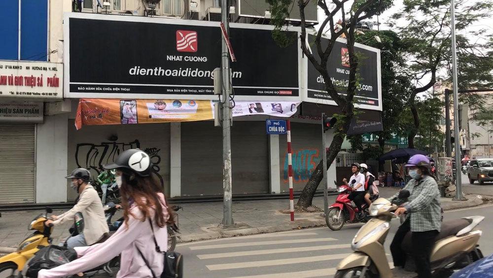 Khám xét chuỗi cửa hàng điện thoại Nhật Cường