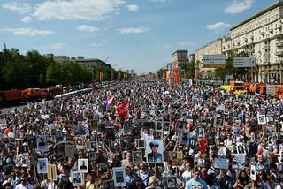 Vietnamese expats in Russia join march commemorating Immortal Regiment