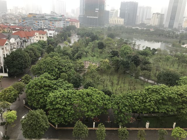 Residents oppose parking lot at Hanoi's Cau Giay Park
