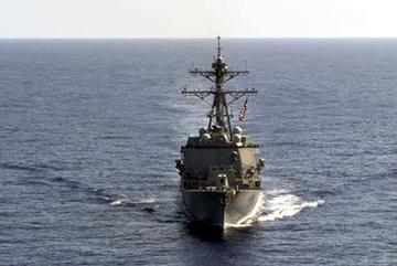 Thông tin tàu hải quân Mỹ đi vào khu vực Trường Sa