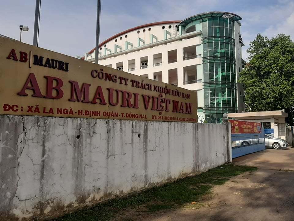 ô nhiễm,công ty AB Mauri,Đồng Nai,ô nhiễm môi trường