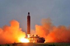 Bí ẩn mẫu tên lửa Triều Tiên vừa thử nghiệm