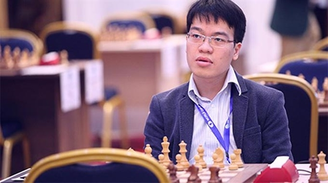 Le Quang Liem draws with Wang Hao in Chinese Chess League Division