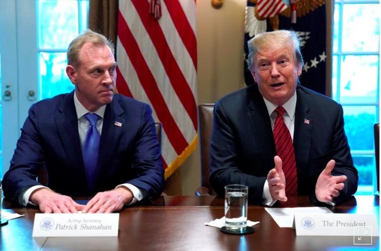 Bộ trưởng Quốc phòng Mỹ,Bộ trưởng Shanahan,Tổng thống Mỹ,Donald Trump