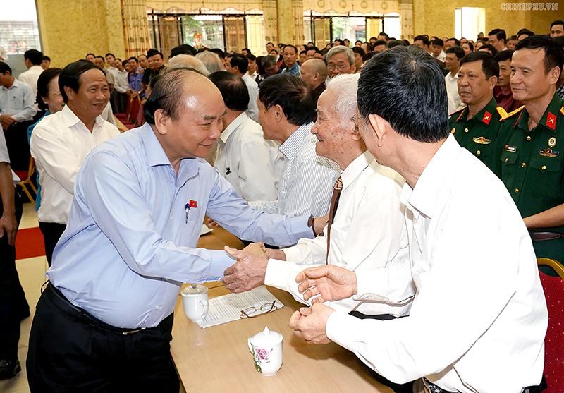 Thủ tướng,Nguyễn Xuân Phúc,tiếp xúc cử tri