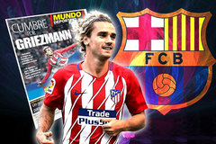 MU thỏa thuận Dembele, Barca ký Griezmann