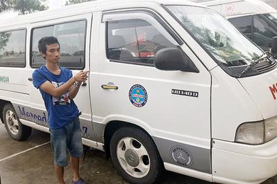 Gã thanh niên sống lang thang trộm ô tô trong bến xe khách