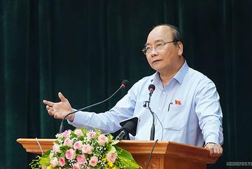 Thủ tướng trả lời cử tri nhiều vấn đề 'nóng'