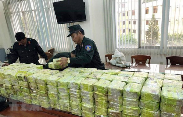 VN struggles to combat flow of drugs from Golden Triangle