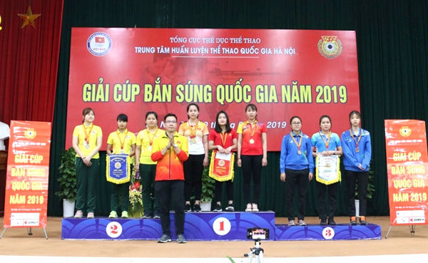 Seven new records set at VN national shooting comp