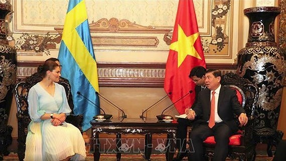 HCMC and Sweden promote environmental cooperation