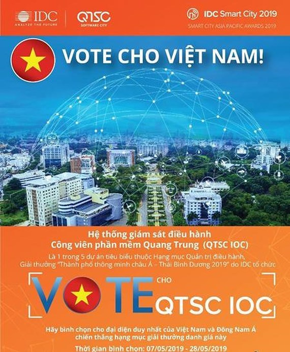 HCMC-based Quang Trung Software City passes preliminary round of Smart City Awards