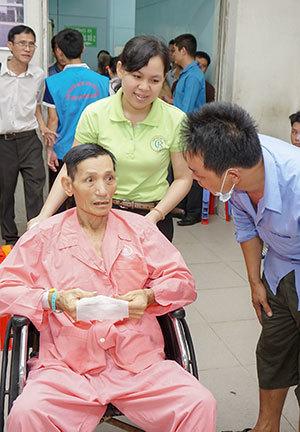 bệnh viện chợ rẫy,ngày điều dưỡng,bệnh nhân,công tác xã hội