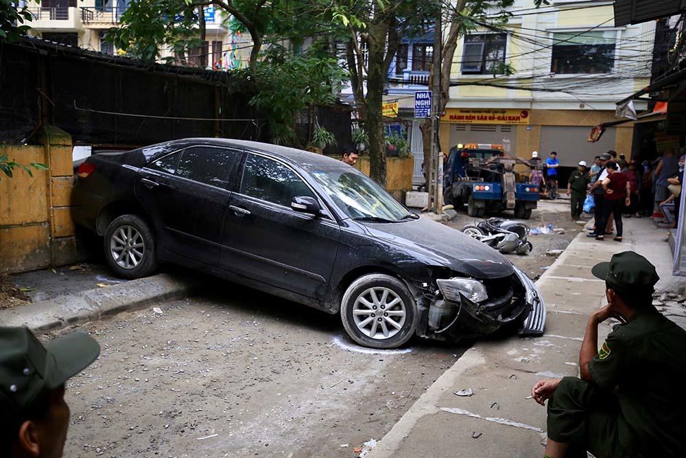 tai nạn,tai nạn giao thông,tai nạn chết người,Hà Nội,lùi ô tô