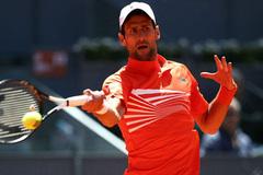 """Cilic """"đầu hàng"""", Djokovic chiến Dominic Thiem ở bán kết"""