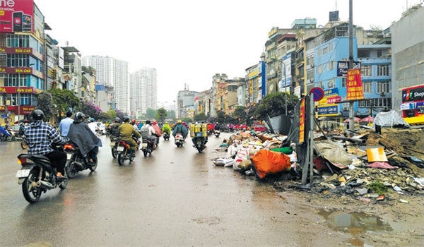 Appropriate technology needed to treat solid waste