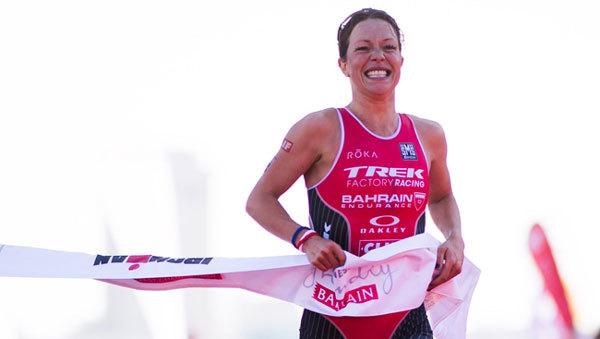 Nữ vận động viên xứ Wales và cái duyên với IRONMAN 70.3