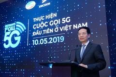 Toàn văn phát biểu của Bộ trưởng Nguyễn Mạnh Hùng tại buổi thử nghiệm cuộc gọi 5G đầu tiên
