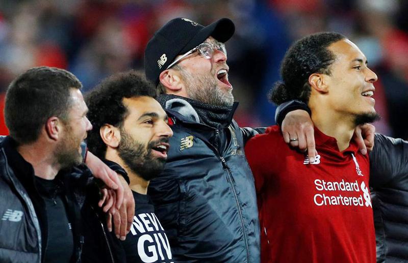 Liverpool,Jurgen Klopp,Mohamed Salah