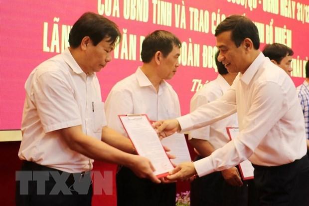 Hà Nội,Thái Bình,Ninh Bình,Nghệ An,bổ nhiệm,nhân sự