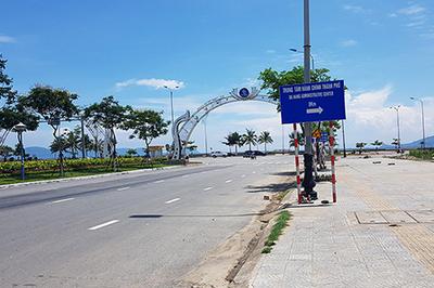 Đà Nẵng sẽ có quảng trường bãi đỗ xe hơn 4.000m2 bên bờ biển