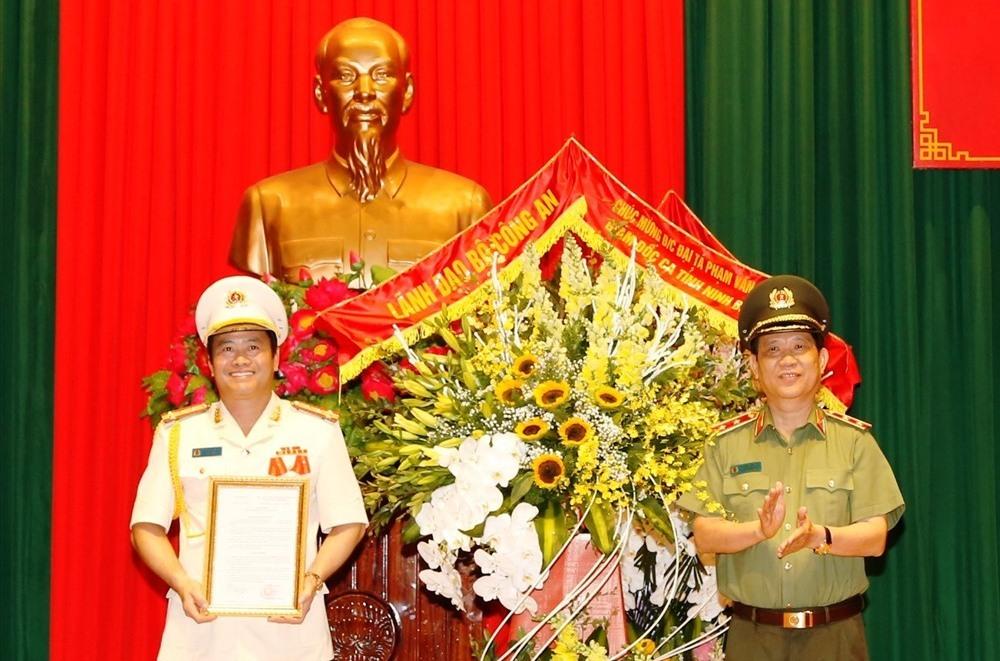 Đại tá Phạm Văn Sơn làm Giám đốc Công an tỉnh Ninh Bình
