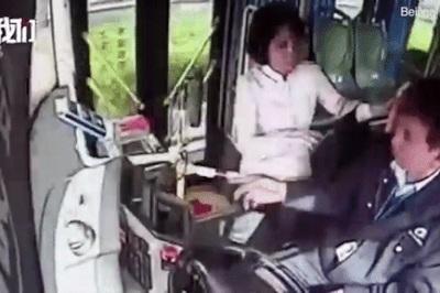 Nữ hành khách Trung Quốc tát tài xế xe bus bị lĩnh án 4 năm tù