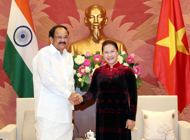 NA Chairwoman welcomes Indian Vice President