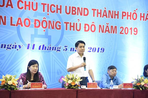 Cấm xe máy,Hà Nội,Chủ tịch Hà Nội,Nguyễn Đức Chung