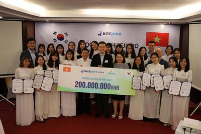 Học bổng Hitejinro 2019: 200 triệu cho sinh viên Việt Nam